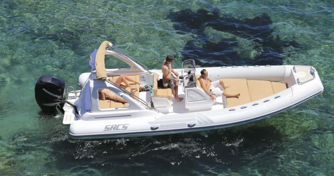 Vermietung Motorboot Sacs mit Führerschein