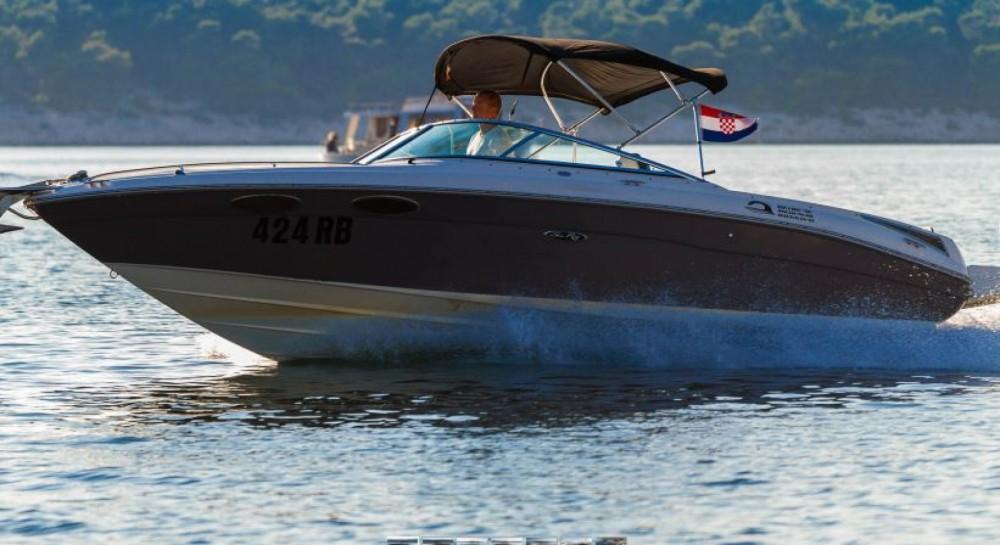 Motorboot mieten in Barbat na Rabu - Sea Ray 240 Sun Sport