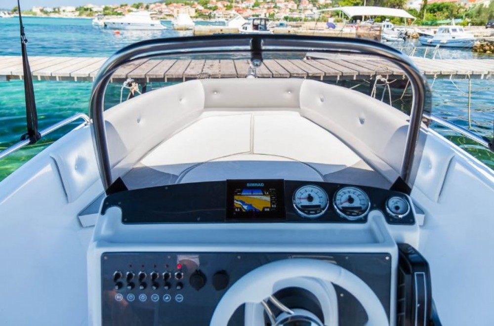 Motorboot mit oder ohne Skipper Salmer Calipso mieten in Barbat na Rabu