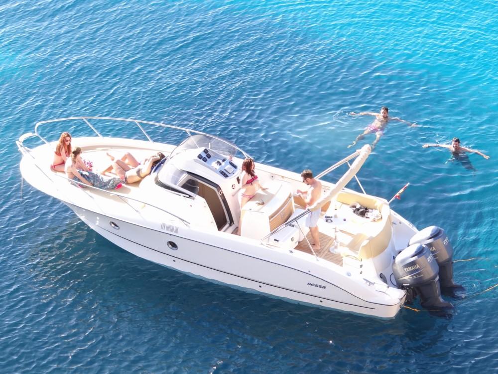 Sessa Marine Kay Large 30 zwischen Privatpersonen und professionellem Anbieter Balearic Islands