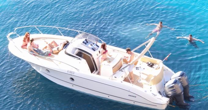Motorboot mit oder ohne Skipper Sessa Marine mieten in Ibiza Town