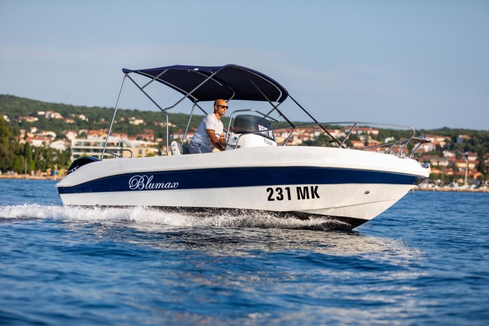 Vermietung Motorboot Blumax mit Führerschein