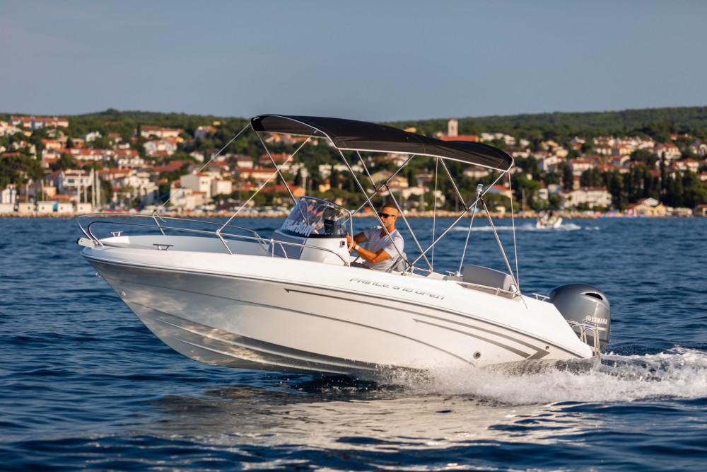 Motorboot mieten in Malinska zum besten Preis