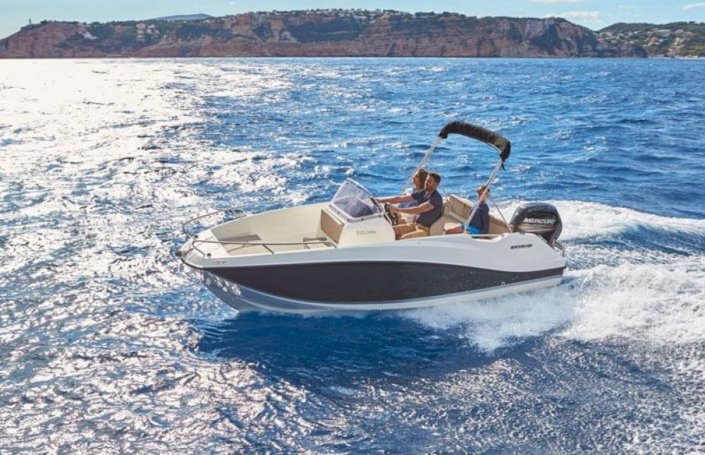 Yacht-Charter in Gruissan - Quicksilver Activ 555 Open auf SamBoat