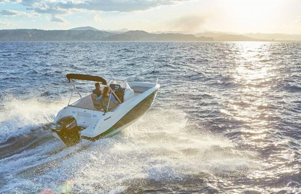 Motorboot mieten in Gruissan - Quicksilver Activ 555 Open