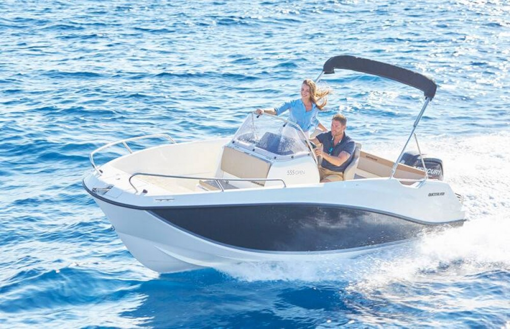 Bootsverleih Quicksilver Activ 555 Open Gruissan Samboat
