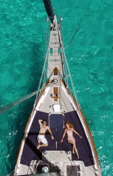 Segelboot mit oder ohne Skipper modern mieten in Santa Eulària des Riu