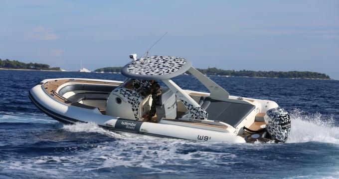 Ein Wimbi Boats W9 mieten in Port Grimaud