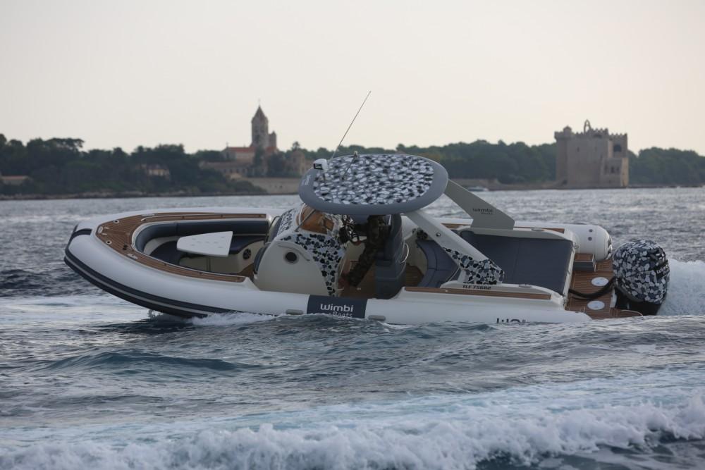 Schlauchboot mieten in Port Grimaud - Wimbi Boats W9