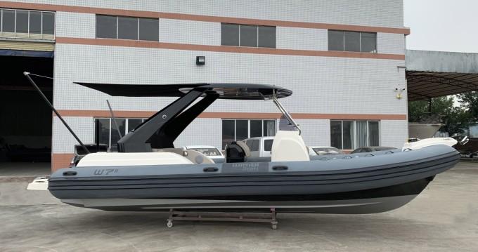 Schlauchboot mieten in Cogolin - Wimbi Boats W7