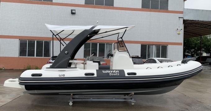Schlauchboot mieten in Port Grimaud - Wimbi Boats W6