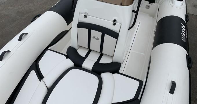 Vermietung Schlauchboot Wimbi Boats mit Führerschein