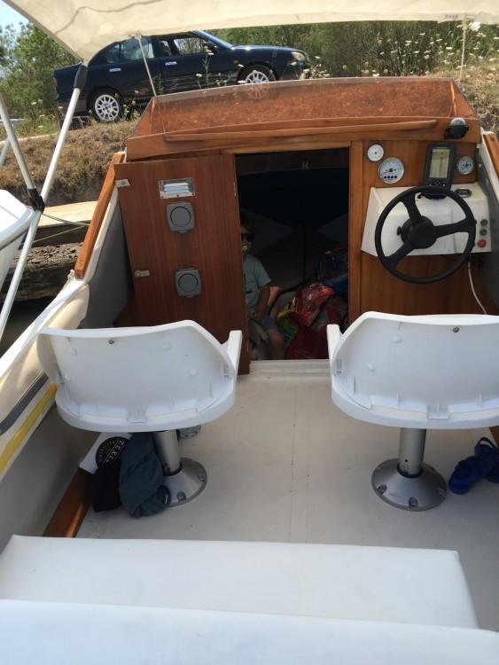 Vermietung Motorboot Stip mit Führerschein
