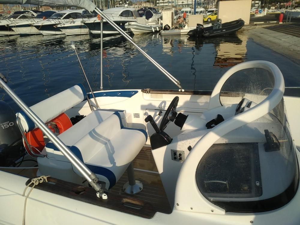 Motorboot mieten in Hyères - Quicksilver 600 open