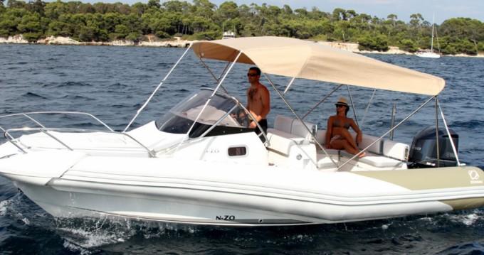 Schlauchboot mieten in Le Verdon-sur-Mer - Zodiac N-ZO 700 Cabin