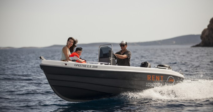 Bootsverleih The Sailor's Ride 455 Paros Samboat