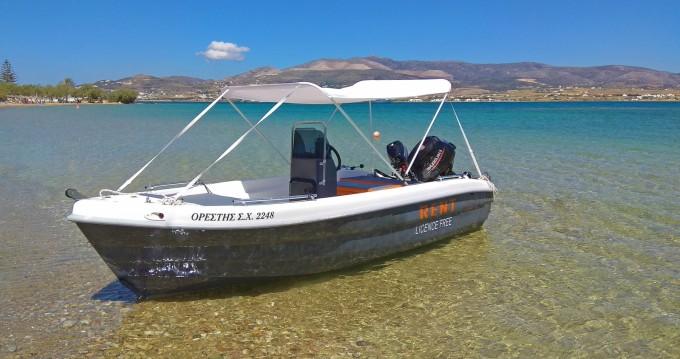 Motorboot mieten in Paros - The Sailor's Ride 455