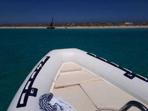Ein Nautitech 6,80m mieten in Formentera