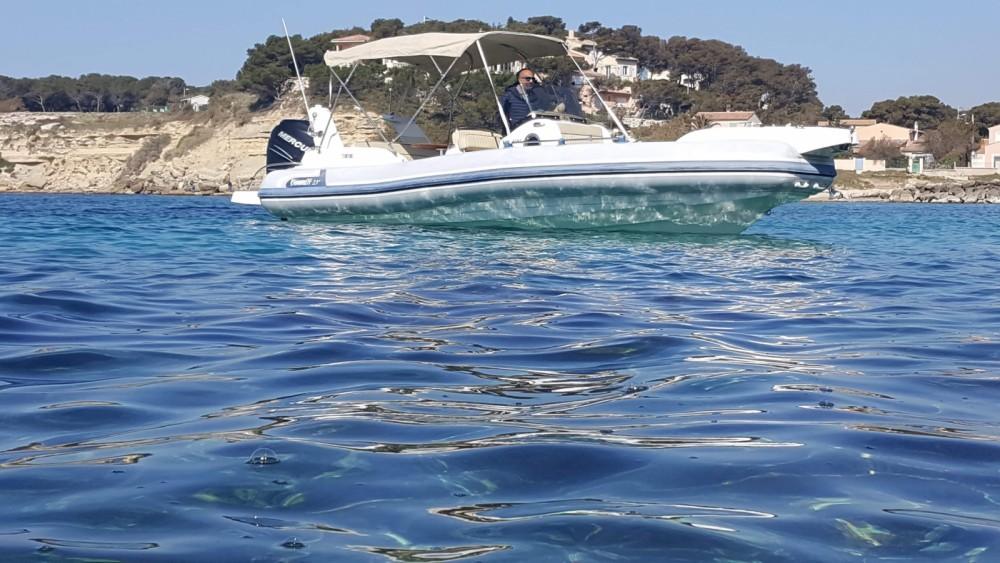 Vermietung Schlauchboot Marlin Boat mit Führerschein