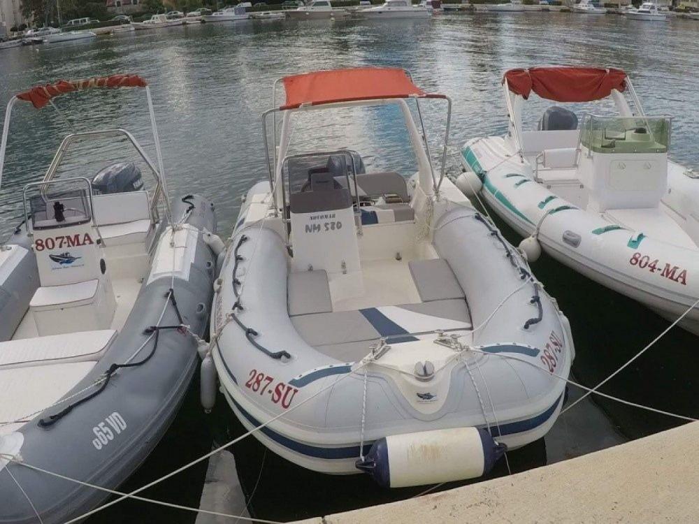 Vermietung Schlauchboot Novomar mit Führerschein