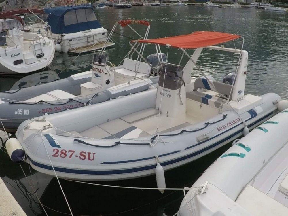 Schlauchboot mit oder ohne Skipper Novomar mieten in Omiš