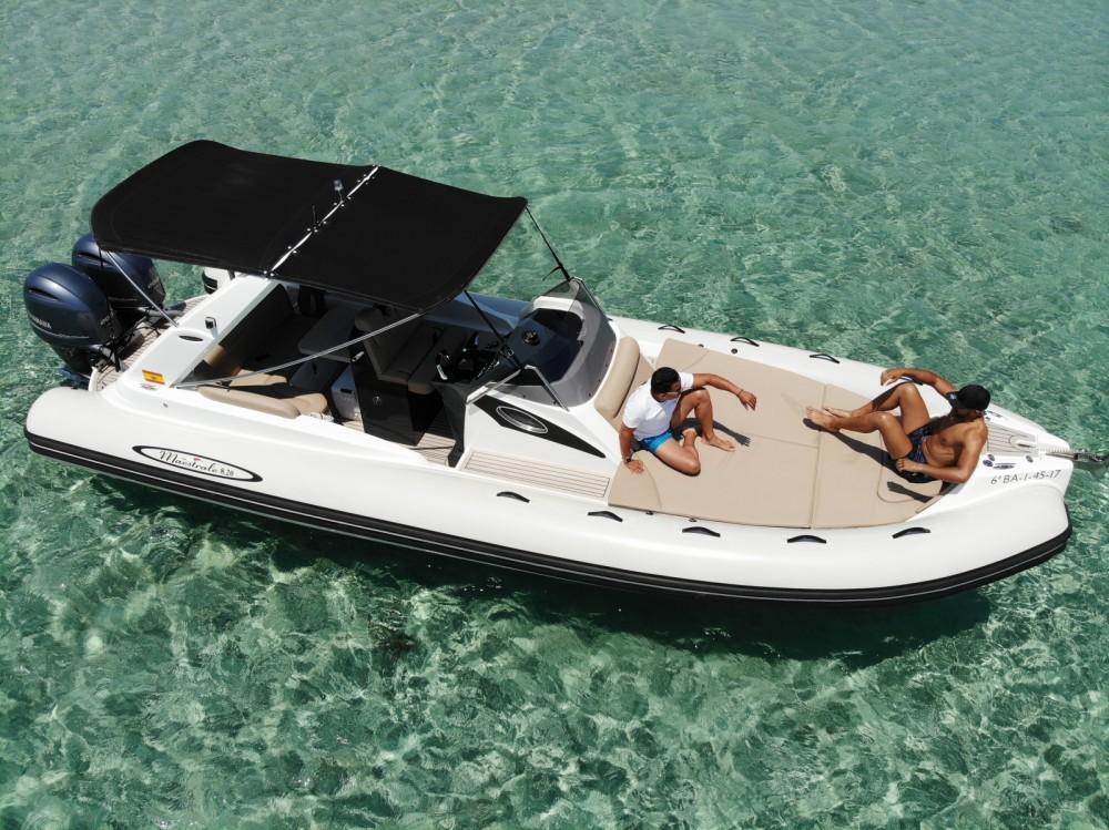 Motorboot mit oder ohne Skipper maestrale mieten in Balearische Inseln