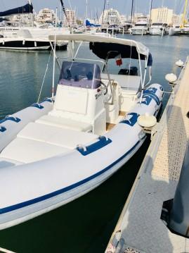 Vermietung Schlauchboot Northstar mit Führerschein