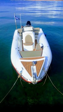 Schlauchboot mit oder ohne Skipper INDIGO mieten in Kastelorizo