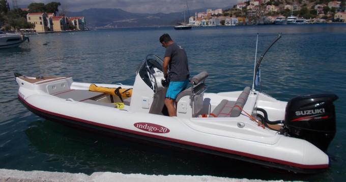 Schlauchboot mieten in Kastelorizo - INDIGO INDIGO 20