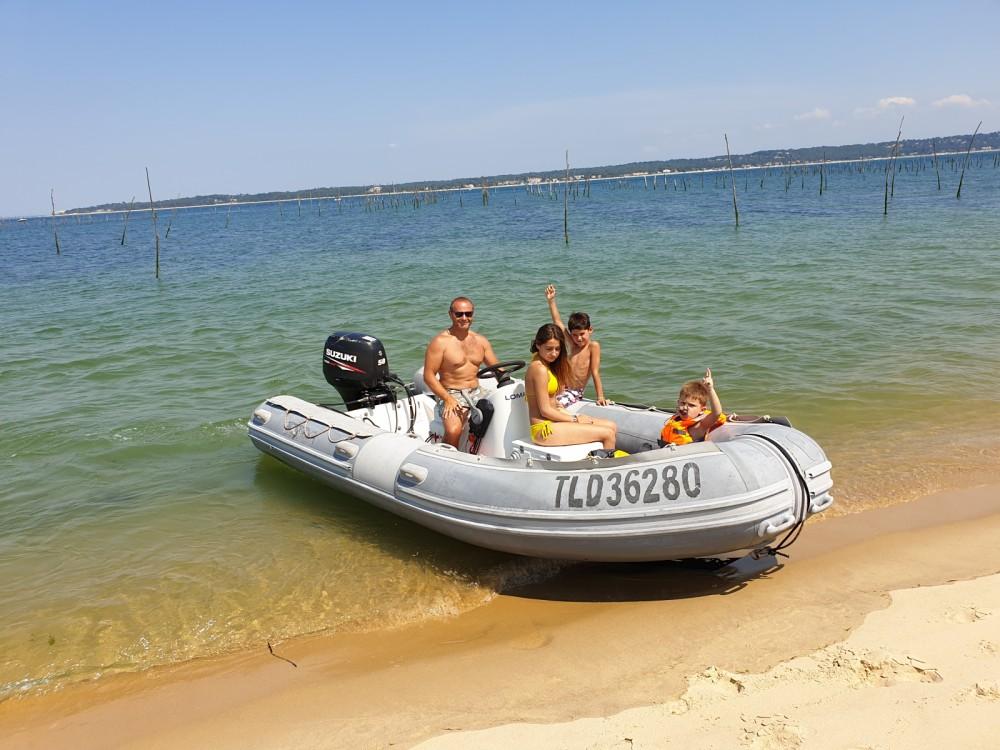 Schlauchboot mieten in Lège-Cap-Ferret - Lomac 470