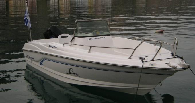 Bootsverleih Olympic 520 cc Kastelorizo Samboat