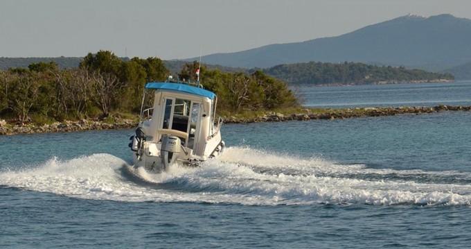 Motorboot mit oder ohne Skipper Reful mieten in Ugljan