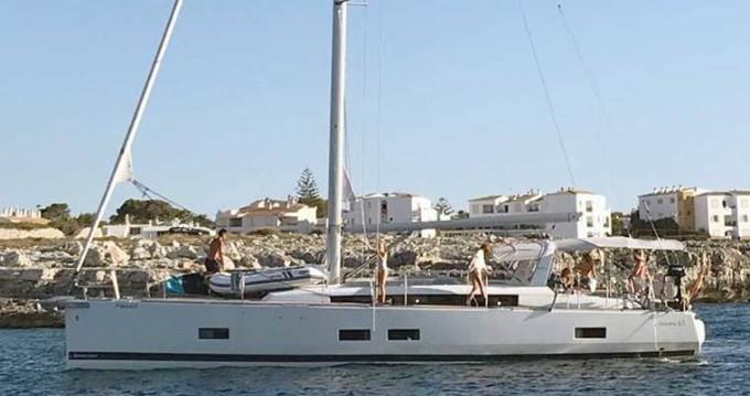 Bénéteau Oceanis 55 zwischen Privatpersonen und professionellem Anbieter Porto-Vecchio