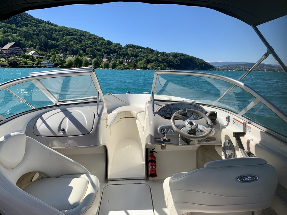 Motorboot mieten in Annecy - Maxum Maxum 1800SR3