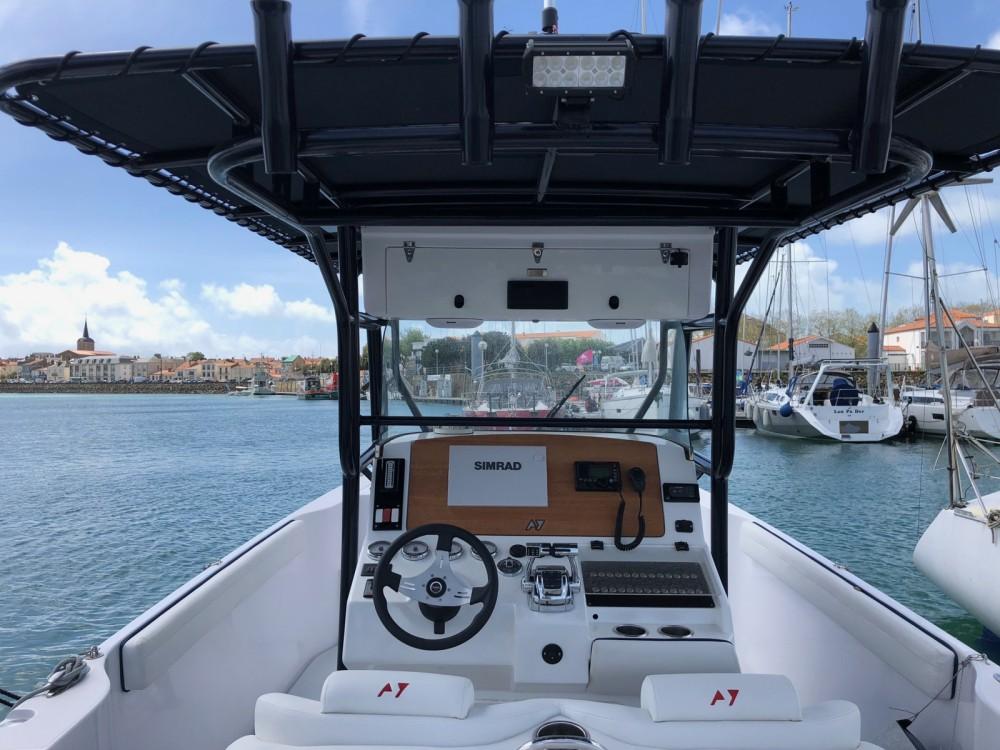 Motorboot mieten in Les Sables-d'Olonne - DONZI 38