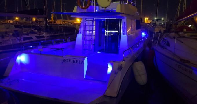 Vermietung Motorboot Cata mit Führerschein
