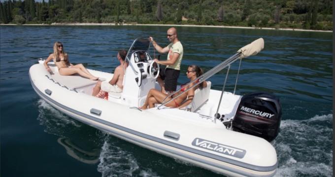 Schlauchboot mieten in Six-Fours-les-Plages - Valiant 580