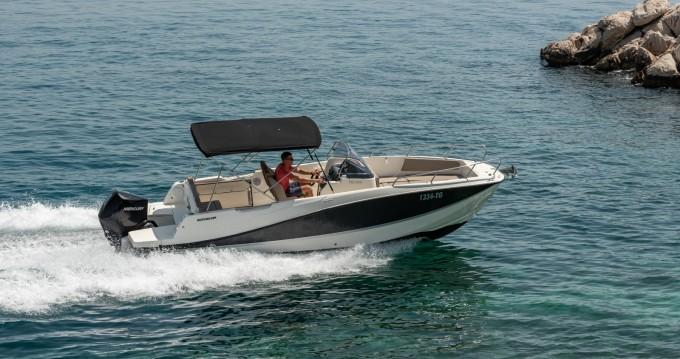 Motorboot mieten in Trogir - Quicksilver Activ 755 Open