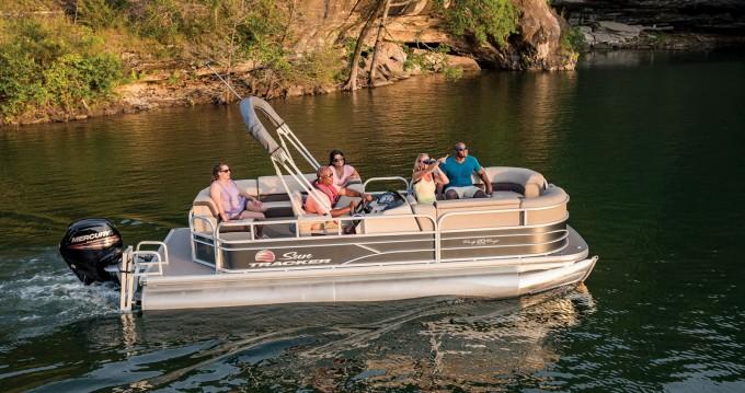 Vermietung Motorboot Sun Tracker mit Führerschein