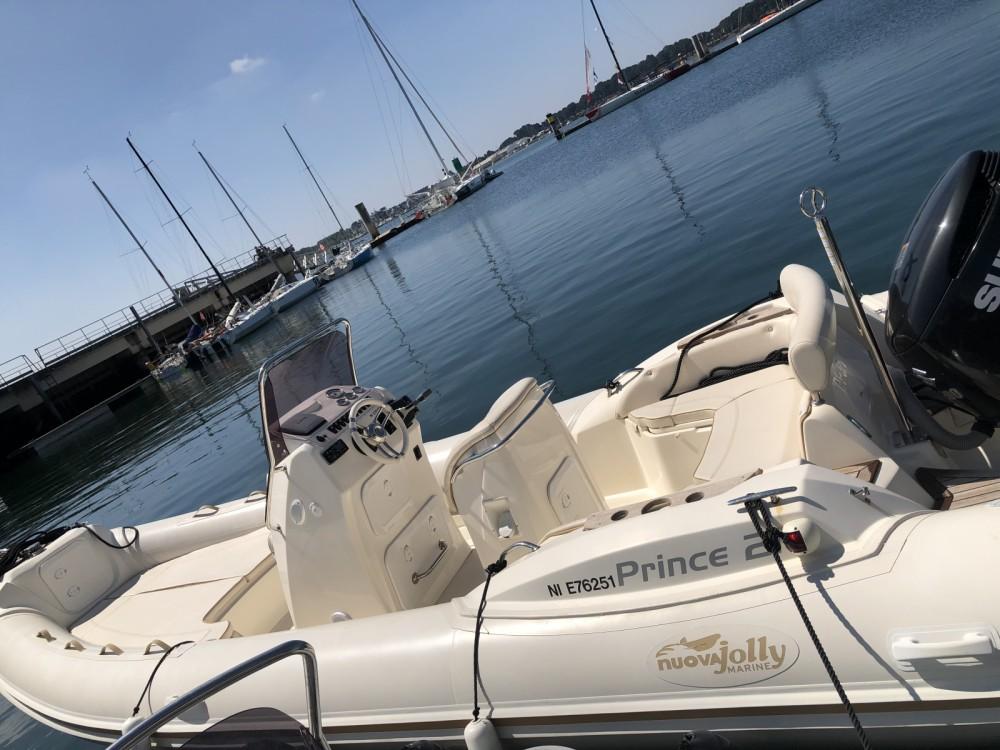 Vermietung Schlauchboot Nuova Jolly mit Führerschein