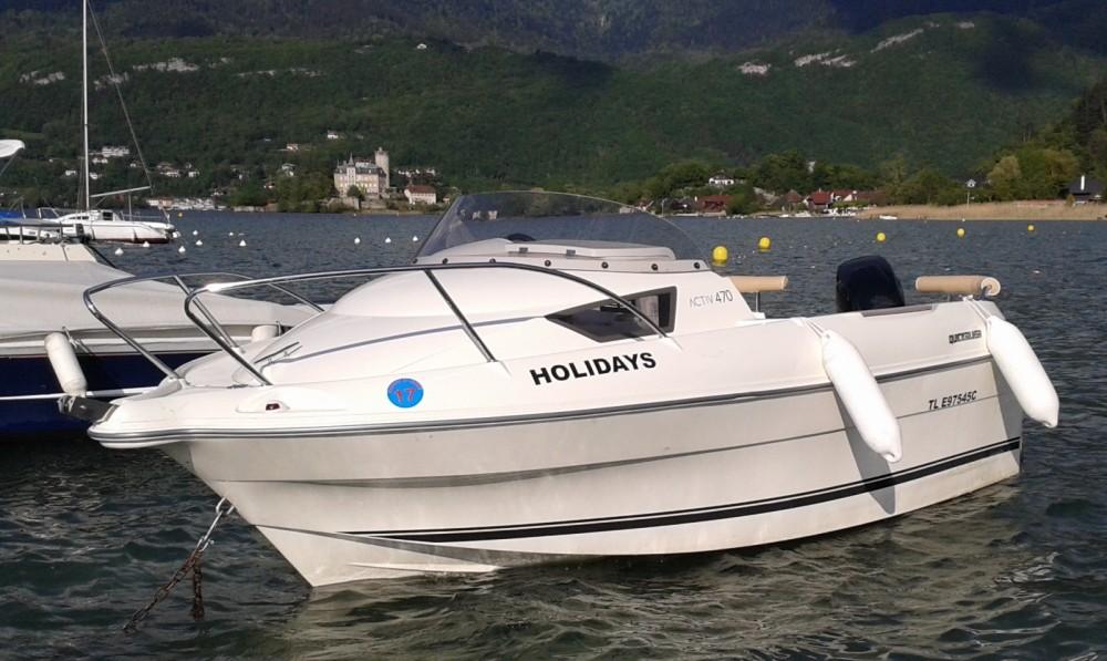 Motorboot mieten in Duingt - Quicksilver 4.70 cabine