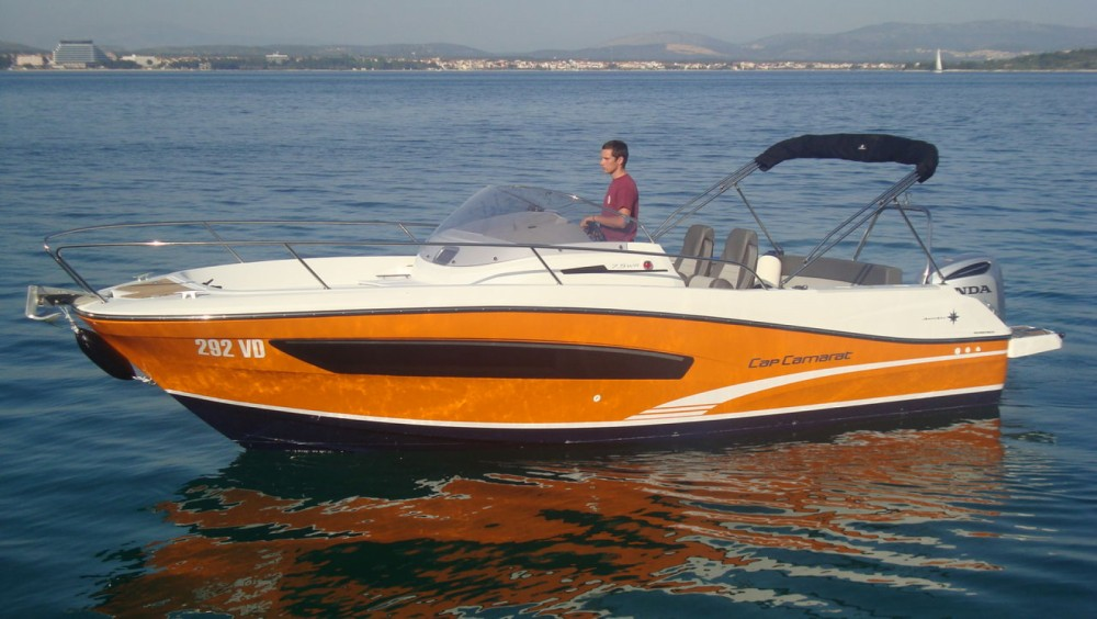 Yacht-Charter in Tribunj - Jeanneau Cap Camarat 7.5 WA Serie 2 auf SamBoat
