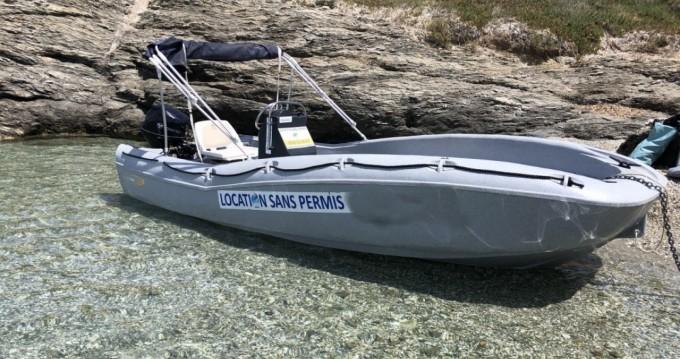 Vermietung Motorboot Fun Yak mit Führerschein