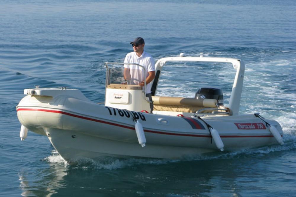Schlauchboot mit oder ohne Skipper Barracuda mieten in Biograd na Moru