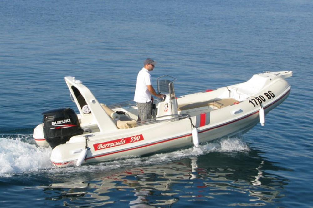 Bootsverleih Biograd na Moru günstig Barracuda 590