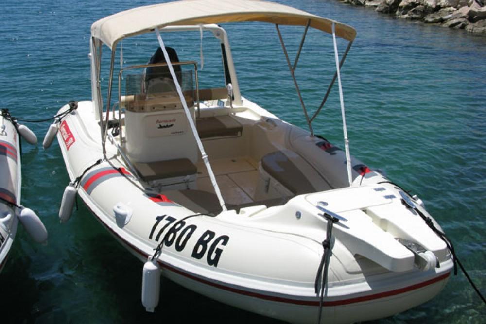 Barracuda Barracuda 590  zwischen Privatpersonen und professionellem Anbieter Biograd na Moru