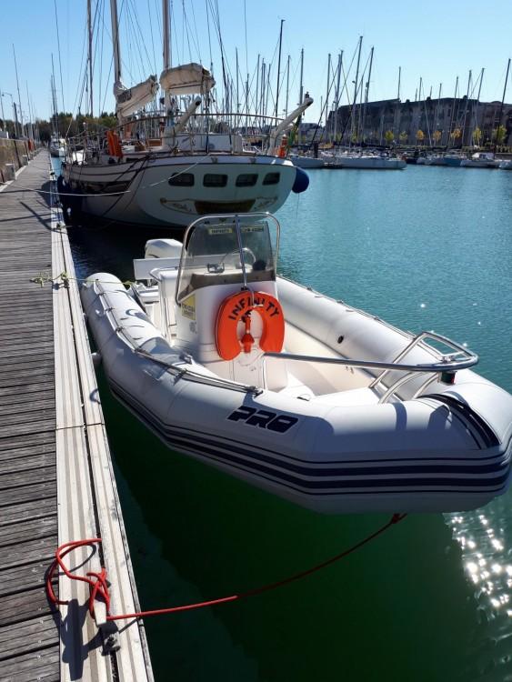 Schlauchboot mieten in Le Havre - Zodiac Open Pro 6.50