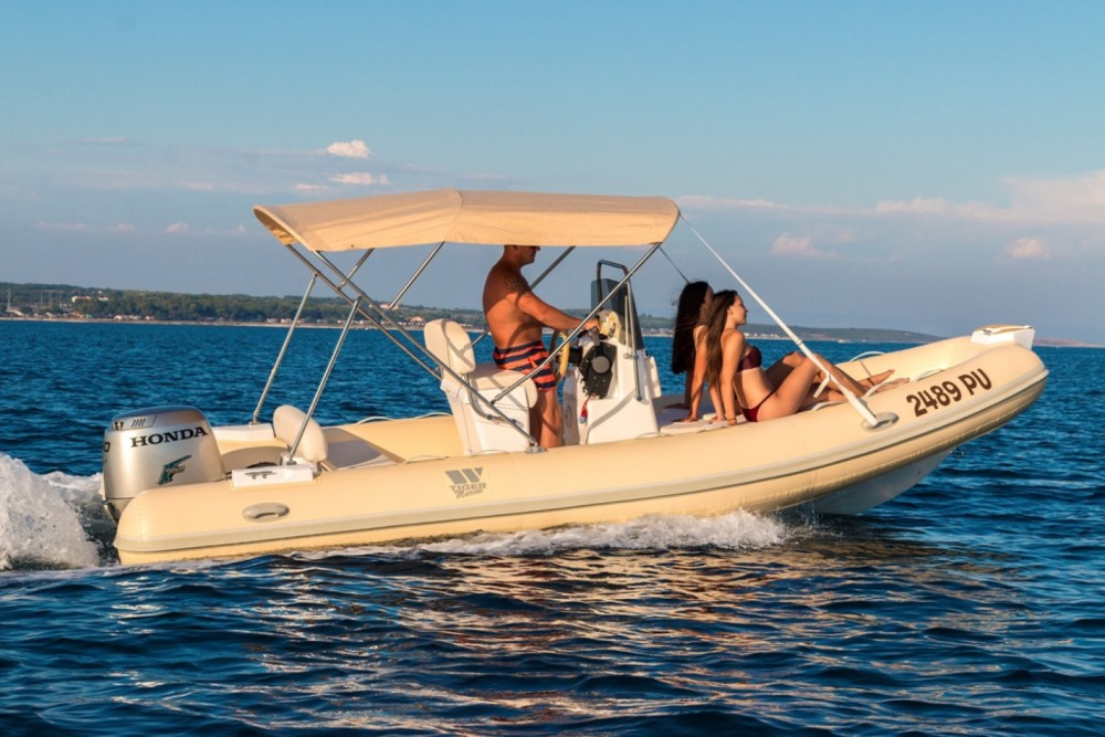 Schlauchboot mieten in Premantura - Tiger-Marine 550 Proline