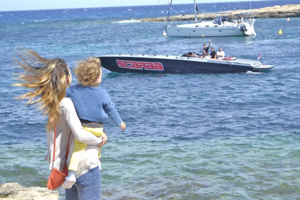 Yacht-Charter in Sant Antoni de Portmany - Wellcraft Scarab 38 auf SamBoat
