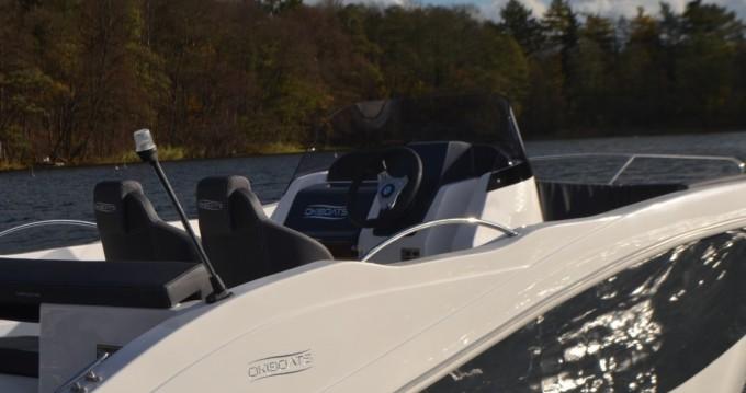 Vermietung Schlauchboot Okiboats mit Führerschein